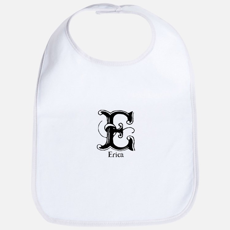 Erica: Fancy Monogram Bib