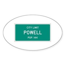 Powell, Texas City Limits Decal