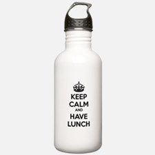 Keep calm and have lunch Water Bottle