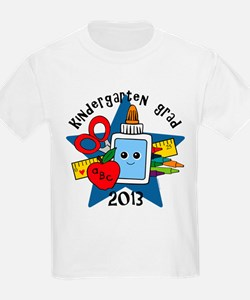 School Supplies Kind Grad 13 T-Shirt