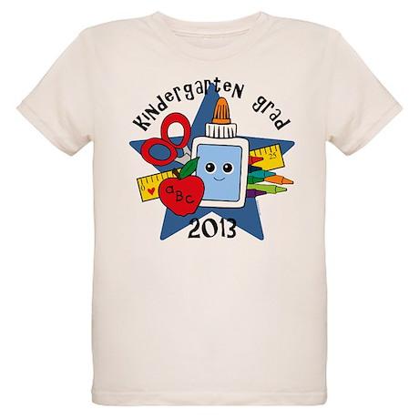 School Supplies Kind Grad 13 Organic Kids T-Shirt