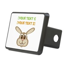 PERSONALIZE Easter Bunny Hitch Cover