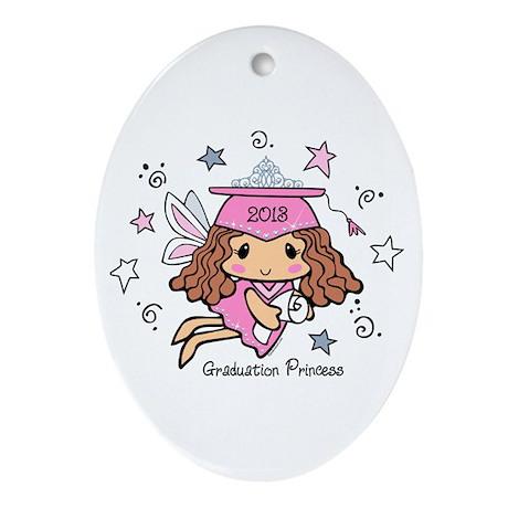 Graduation Princess 2013 Ornament (Oval)