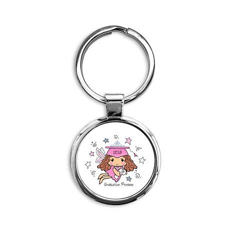 Graduation Princess 2013 Round Keychain