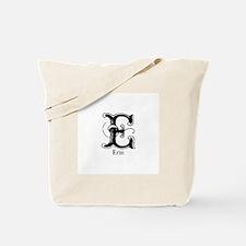 Erin: Fancy Monogram Tote Bag