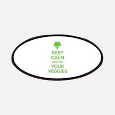 Keep calm and eat your veggies Patches
