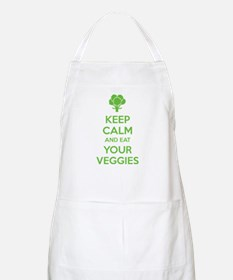 Keep calm and eat your veggies Apron