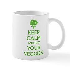 Keep calm and eat your veggies Mug