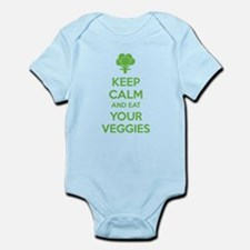 Keep calm and eat your veggies Infant Bodysuit