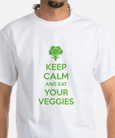 Keep calm and eat your veggies Shirt