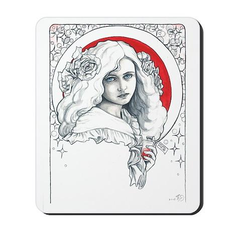 Alice Nouveau Mousepad
