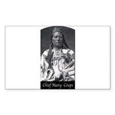 Chief Many Coups Decal
