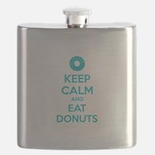 Keep calm and eat donuts Flask