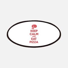 Keep calm and eat pizza Patches