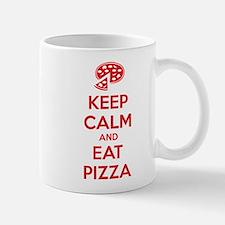Keep calm and eat pizza Mug