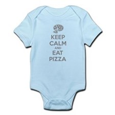 Keep calm and eat pizza Infant Bodysuit