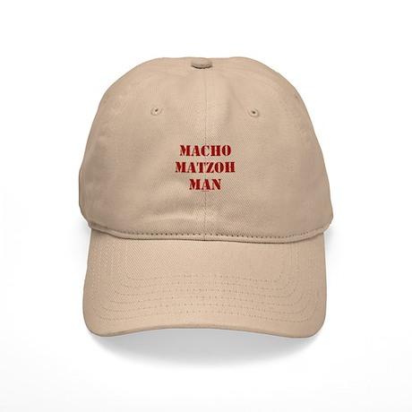 Macho Matzoh Man Baseball Cap