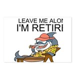 Leave Me Alone, Im Retired Postcards (Package of 8