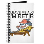Leave Me Alone, Im Retired Journal