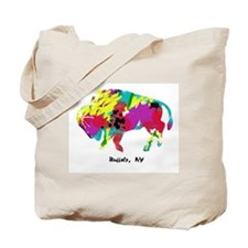 Artsy Buffalo Tote Bag