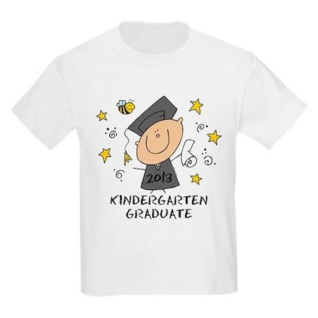 Cute Boy Kindergarten Grad 2013 Kids Light T-Shirt