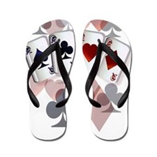 Unique Poker Flip Flops