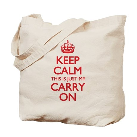 Keep Calm Carry On Bag Tote Bag
