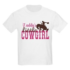 Daddys Little Cowgirl T-Shirt