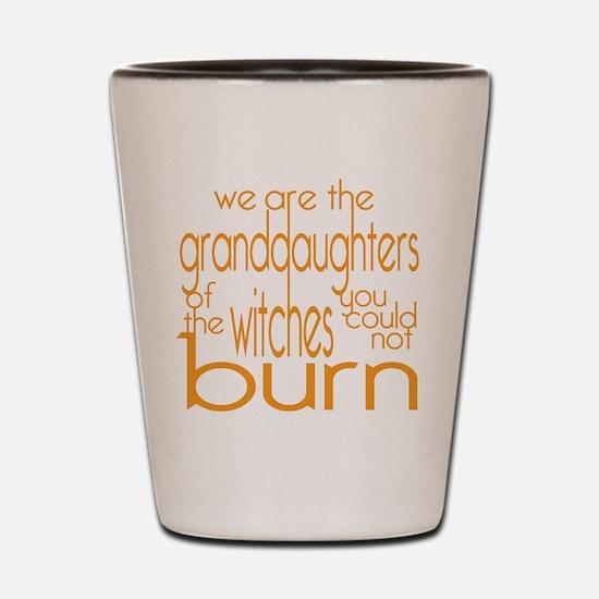Granddaughters Shot Glass