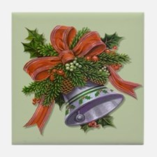 Christmas Bells Tile Coaster