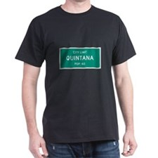 Quintana, Texas City Limits T-Shirt