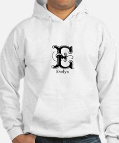 Evelyn: Fancy Monogram Hoodie