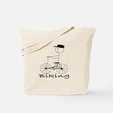 Bike / Biking Tote Bag