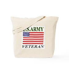 US A Veteran Tote Bag
