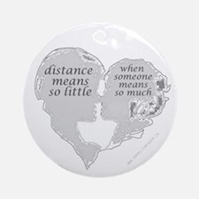 """""""Distance"""" Collectible Ornament (Round)"""