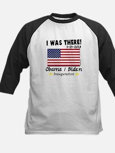 I Was There Obama Biden Kids Baseball Jersey