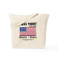 I Was There Obama Biden Tote Bag