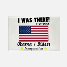 I Was There Obama Biden Rectangle Magnet
