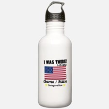 I Was There Obama Biden Water Bottle