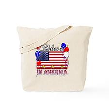 Believe in America Tote Bag