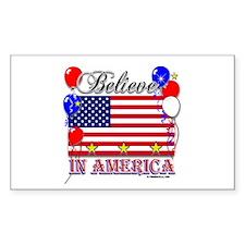 Believe in America Decal