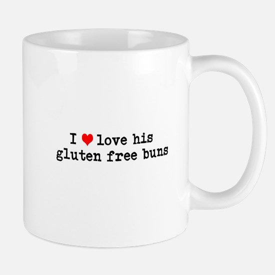 I love his gluten free buns Mug