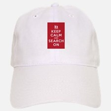Keep Calm and Search On (Ground Pounders) Baseball Baseball Cap