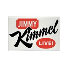 Jimmy Kimmel Live Rectangle Magnet