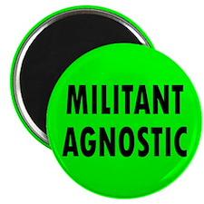 MILITANT AGNOSTIC... Magnet