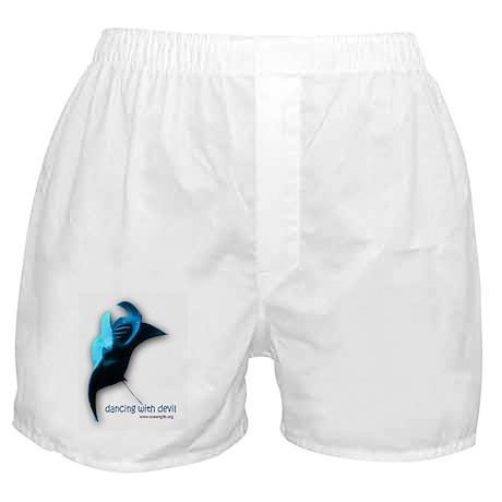 Dancing Manta Ray Boxer Shorts