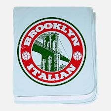 Brooklyn New York Italian baby blanket