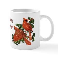 Christmas Cardinals Mug
