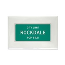 Rockdale, Texas City Limits Rectangle Magnet