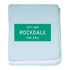Rockdale, Texas City Limits baby blanket
